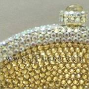 Golden Crystal Purse