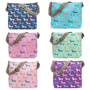 New Sausage Dog Print Crossbody Bag -JC Unique Wholesale UK