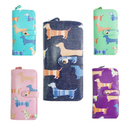 Sausage Dog Oilcloth Long Purse - JC Unique Wholesale UK