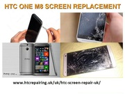 Htc One m8 Screen Replacement UK