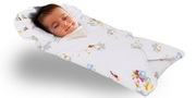 Buy Soft Touch Cotton Rich Baby Swaddle Blanket with Padded Pillow