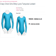Stylewar Bring A Perfect Collection Of Crazy Chick Girls Leotard In Uk