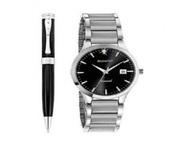 Buy Accurist Gents Watch & Pen Gift Set