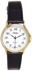 Reflex Classic White Dial Crocodile Effect Strap Gents Watch 101027GT