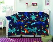 Buy Cotton Rich 3 Piece Cot Quilt,  Pillow & Bumper Set