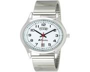 Buy Ravel Gents Stainless Steel Day/Date Bracelet Strap Watch