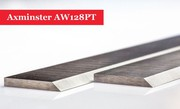 Axminster AW128PT Planer Blades Knives - 1 Pair
