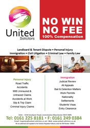 No Win No Fee Personal Injury Solicitors in Manchester