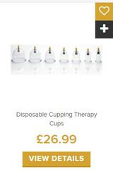 Hijama Treatment involves tools like cups,  oils,  and antiseptic wipes!