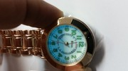 Boxx Rose Gold Nurse Fob Watch with LED Back Light F038RG Lumibrite Di