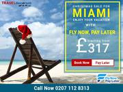 Direct Flights to Miami from UK