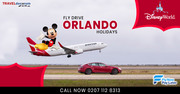 Flight + Car Hire Fly Drive Orlando Package