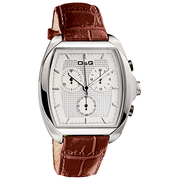 D&G DW0428 Gents 'Martin' Brown Strap Chronograph Watch