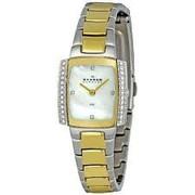 Skagen 688sgx Ladies Links Crystals Gold Glitz Watch