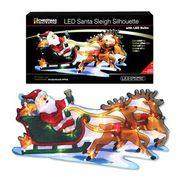 Battery Operated Santa Sleigh Silhouette | Christmas Offer