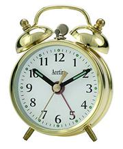 Acctim Mini Brass Double Bell Alarm Clock | Branded Watch Sale