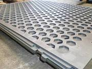 Perforated Vibrating Screen for Separating Stones and Sands