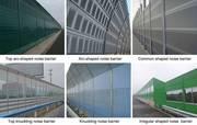 Aluminum Sound Barrier is Used in Railway,  Subway,  Factory,  Bridge