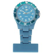 NY London Light Blue Dial Nurse FOB Watch Light Blue 4242