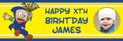 Illustrative description for birthday banners