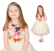 Pattern to follow in Girls Christening Dresses