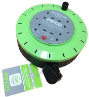 Pifco 4 Way 10M Extension Reel | Wholesale Electrical Accessories