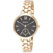 Henley Ladies Fashion Rose Gold Roman Numeral Bracelet Watch H07273.34