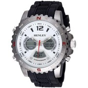 Henley Gents Chronograph watch with date and dual time HDG028.2