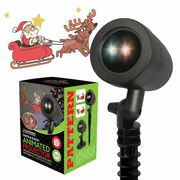 Christmas Offer | Outdoor Animated LED projector - Santa on Sleigh