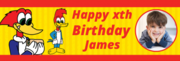 Commemorating the 1st Birthday with Banners