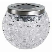 Kingavon Solar Glass Table Globe SL174