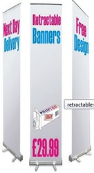 Roller Banner Stands to Market Your Products