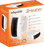 Infapower 2000W Dual Position Fan Heater