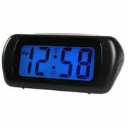 Acctim Auric Silver LCD Alarm Clock
