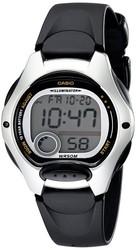 Casio Ladies Black Strap Digital Watch LW-200-1AVDF