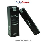 Custom Foundation Boxes Free shipping at GoToBoxes