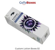 Lotion Packaging Boxes with free shipping at GotoBoxes