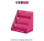 Order latest Cosmetic Display Boxes design at GoToBoxes