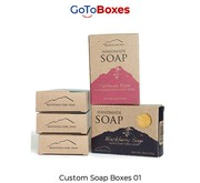 Custom Soap Boxes multiple discounts and Free Shipping
