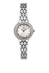Accurist Women's Fashion Diamond Dial Silver Bracelet Watch 8281