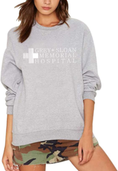 Women's Crew Neck Pullover Sweatshirt Letter Logo Printed Soild Sweats
